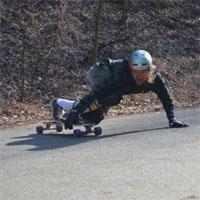 Longboard Freeriden