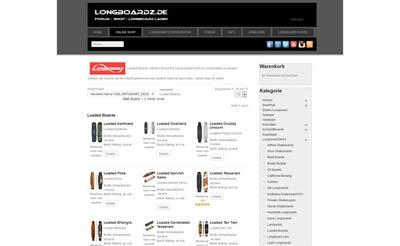 LongboardZ.de Online Shop