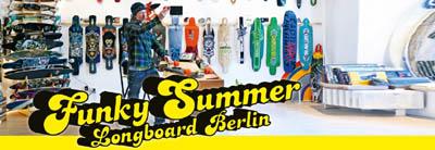 Funky Summer Longboard Berlin