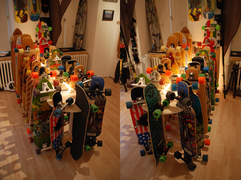 30 Testboards Longboards bei Funky Summer in Berlin