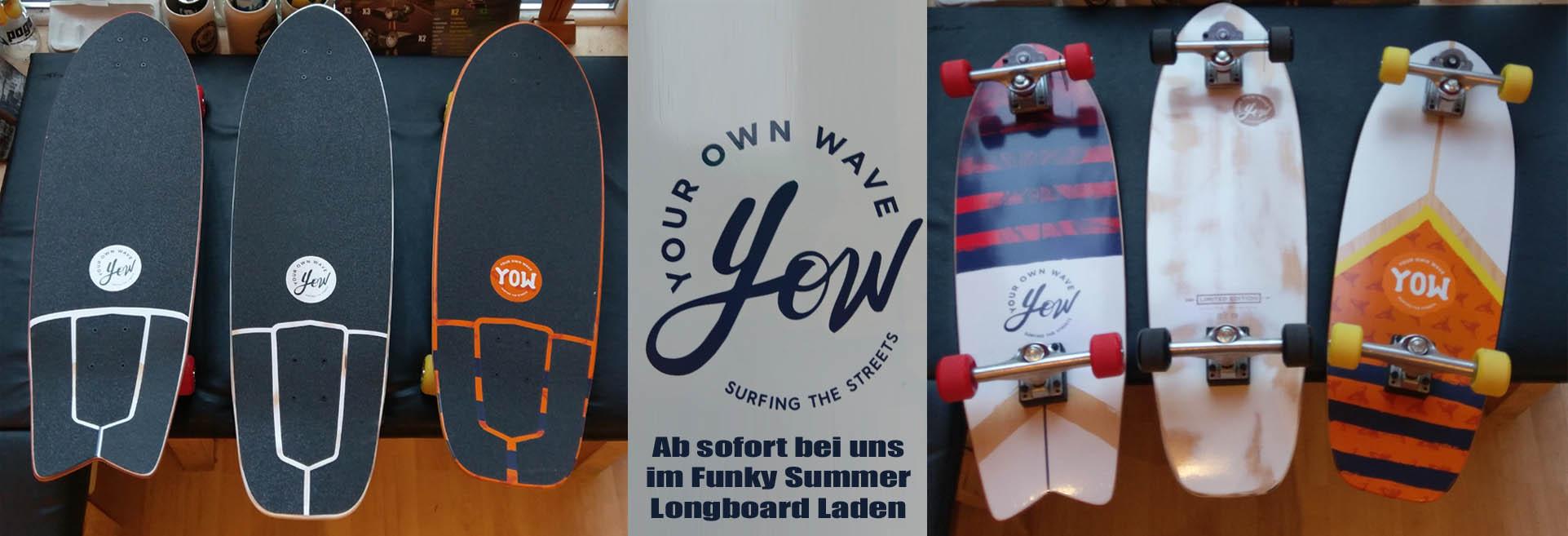 yow Funky Summer Longboard Berlin