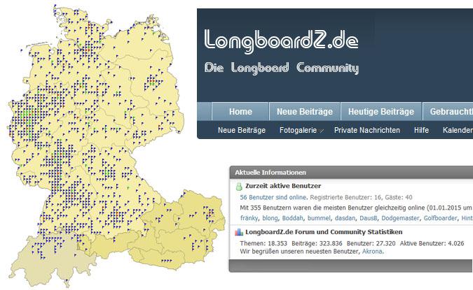 LongboardZ.de Longboard Forum