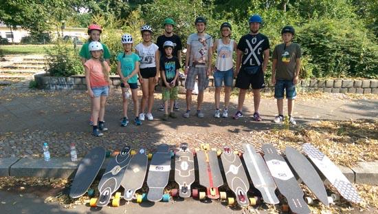 Longboard Kurs Sommer 2016